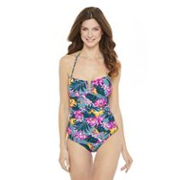 c2f27735951 George Women s Printed One Piece Swimsuit