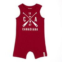 Canadiana Baby Boys' Graphic Romper 18-24 months