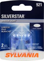 Sylvania SILVERSTAR 921 Automotive Miniature Bulb, 2 Pack