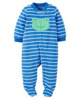 Child of Mine made by Carter's Newborn Boys' Sleep N Play Frog Outfit 3-6 months