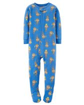 Child of Mine made by Carter's Toddler Boys' 1-Piece Pyjama - Monkey 2T