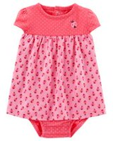 Child of Mine made by Carter's Newborn Girls' 1 piece Ladybug Outfit 18 months