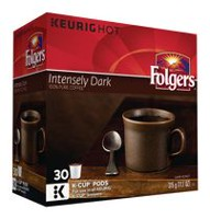 Folgers Intensely Dark K-Cup Coffee Pods
