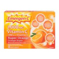 Emergen-C Super Orange 1000 mg Vitamin and Mineral Supplement