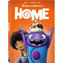 Home (2015) (DVD + Digital HD + 'Trolls' Ticket Offer) (Bilingual)