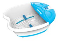 Sharper Image Foot Spa Bath with Vibration, Bubbles and Heat