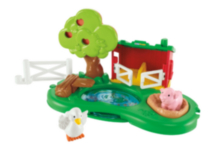 Assortiment COFFRET DE JEU FERME ET MAISON Little People