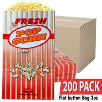 BullsEye Popcorn Bags 3 oz - 200 PACK