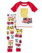 Child of Mine made by Carter's Toddler Boys' 2-Piece Pyjama Set - Rescue 4T