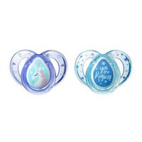 Tommee Tippee Closer to Nature Girls' 6-18 Months Everyday Pacifier