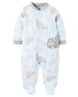 Child of Mine made by Carter's Newborn Boys' Sleep N Play Truck Outfit Newborn