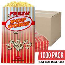 BullsEye Popcorn Bags 3 oz - 1000 PACK