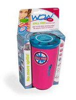 Wow Cup Kids Spill Free Pink Drinking Cup