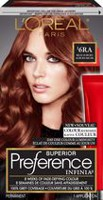 Coloration des cheveux permanante Superior Preference Infinia de L'Oreal Paris Dark Auburn 4Ra