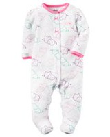 Child of Mine made by Carter's Newborn Girls' Sleep & Play Outfit - Elephant 3-6 months