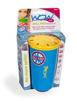 Wow Cup Kids Spill Free Blue Drinking Cup