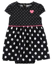 Child of Mine made by Carter's Newborn Girls' 1 piece Outfit - Polka Dot 24M