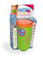 Wow Cup Kids Spill Free Green Drinking Cup