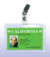 "Royal Sovereign - ID Badge Size - 3"" x 3.75"" - 5mil - 25 Pack - Thermal Laminating Pouch Film"