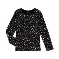 George Girls' Graphic Tee Black S