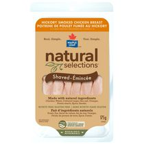 Maple Leaf® Natural Selections™ Shaved Smoked Chicken Breast