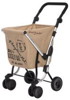 "Playmarket ""We Go"" Shopping Trolley - Brown Sack"