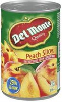Del Monte® Peach Slices In Fruit Juice