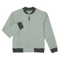 George Boys' Sweater Bomber Jacket Gray S