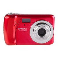 Vivitar VXX14 20MP 4x Optical Zoom Red Digital Camera