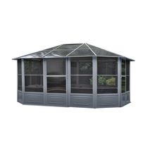 Florence Solarium 12 Ft. x 15 Ft. in Slate