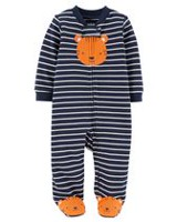 Child of Mine made by Carter's Newborn Boys'  Sleep N Play Outfit -Tiger 0-3 months