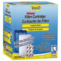 Tetra Whisper Large Filter Cartridges, 8 pack