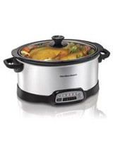 Hamilton Beach 7 Quart Programmable Slow Cooker