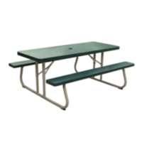 Lifetime 6' Picnic Table - green