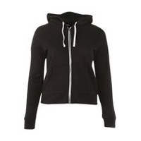 George Women's Cotton Blend Hoody Black Soot S