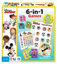 WonderForge 6-in-1 Disney Junior Game