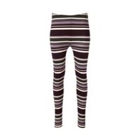George Women's Brushed Jersey Leggings Burgundy M
