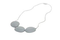 Tiny Teethers Safflower Teething Necklace Grey