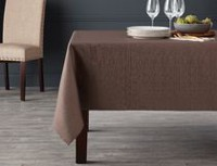 "hometrends Lurex Linen Look Tablecloth 52"" x 70"""