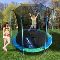 Trainor Sports 8' Trampoline and Enclosure with Trampballoon