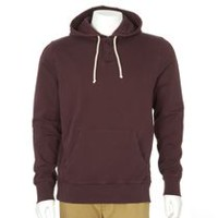 George Men's Popover Hoody Burgundy L