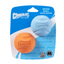 Medium Fetch Balls Pkg/2