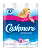Cashmere Double Roll 2 Ply Bathroom Tissue Paper