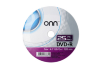 DVD+R 25PACK SHRINK WRAP