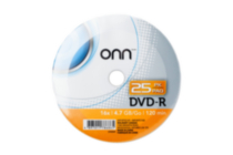 DVD-R 25PACK SHRINK WRAP