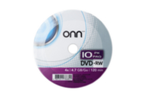DVD+RW 10PACK SHRINK WRAP