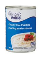 Great Value Rice Pudding