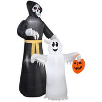 Airblown® Inflatable Reaper and Ghost