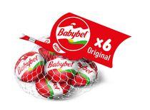 Mini Babybel collations au fromage original, paquet de 6