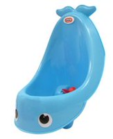 Little Tikes Shoot 'N Spin Whale Urinal